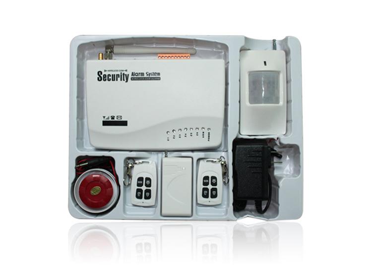 无线GSM家庭防盗报警主机